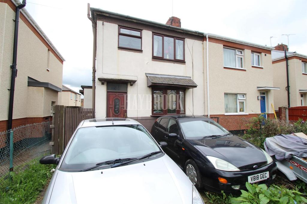 3 Bedrooms Semi Detached House for sale in Cowper Road, Mexborough