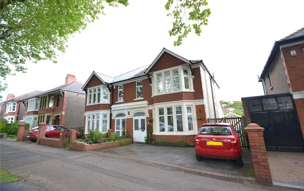 4 Bedrooms Semi Detached House for sale in Heathwood Road, Heath, Cardiff, CF14