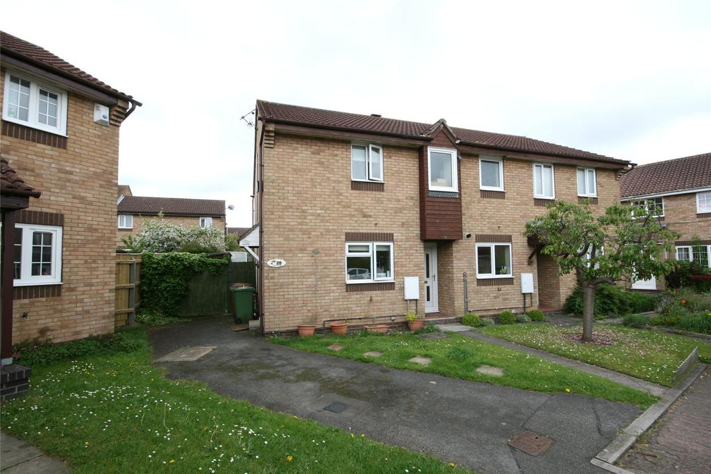 2 Bedrooms End Of Terrace House for sale in Romsey Court, Laceby Acres, DN34
