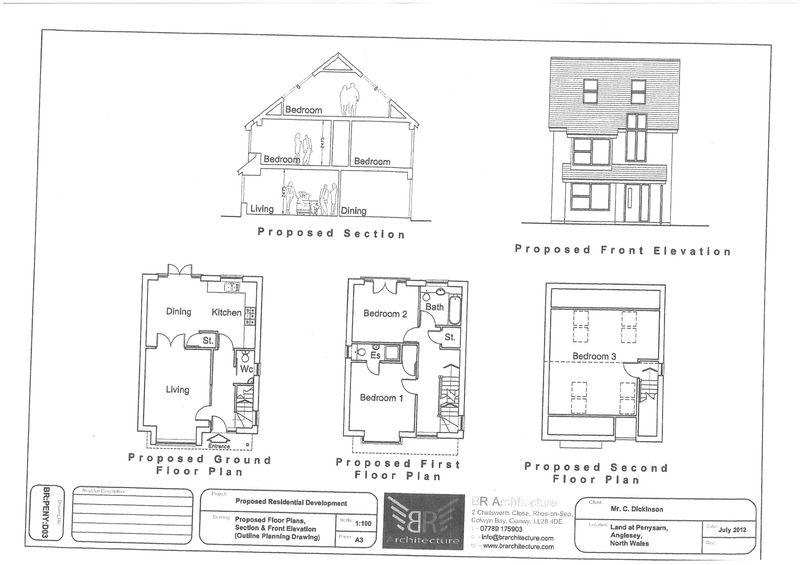 Land Commercial for sale in Lletroed Fawr, Penysarn