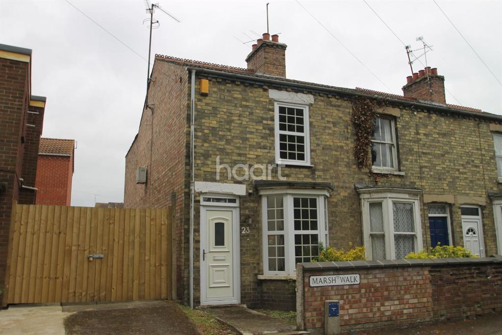 2 Bedrooms End Of Terrace House for sale in Marsh Walk, Wisbech