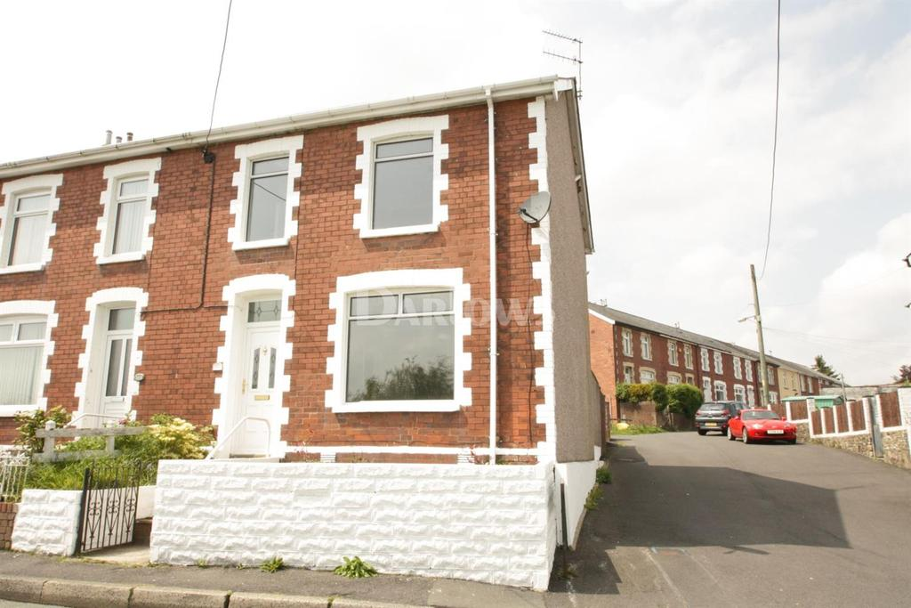 2 Bedrooms End Of Terrace House for sale in Manor Road, Abersychan