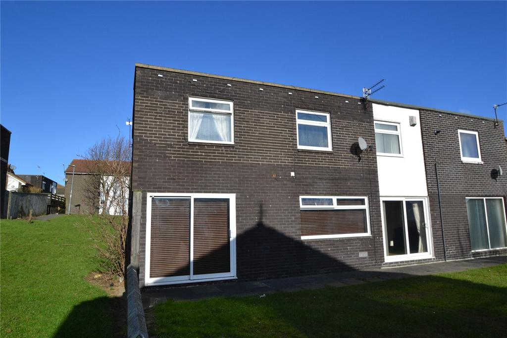3 Bedrooms End Of Terrace House for sale in Wadham Close, Peterlee, Co.Durham, SR8