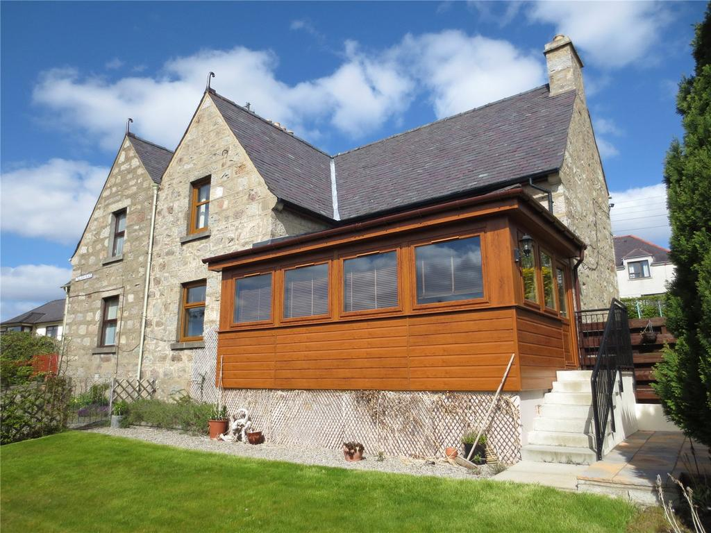 3 Bedrooms Semi Detached House for sale in 2 Tulloch Place, Bonar Bridge, Sutherland, IV24