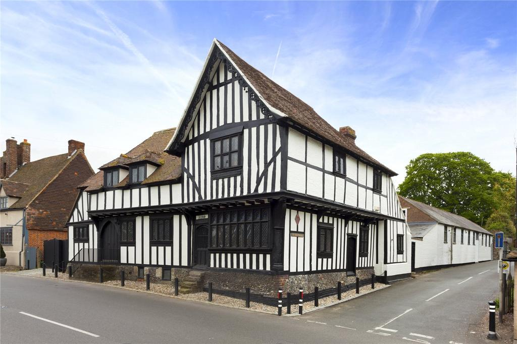 4 Bedrooms Detached House for sale in Canterbury Road, Wingham, Canterbury, Kent