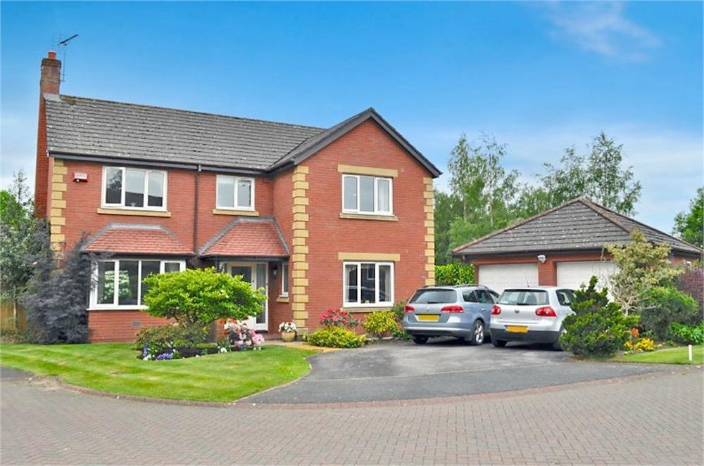 4 Bedrooms Detached House for sale in Beechwood Avenue, Hartford, Northwich, Cheshire