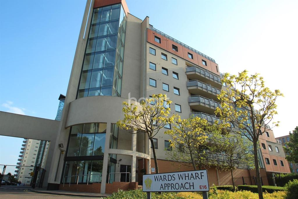 1 Bedroom Flat for sale in Wards Wharf Approach, Royal Docks