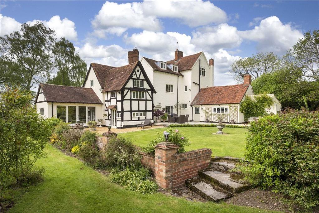 5 Bedrooms Detached House for sale in Buckley Green, Henley-in-Arden, Warwickshire, B95