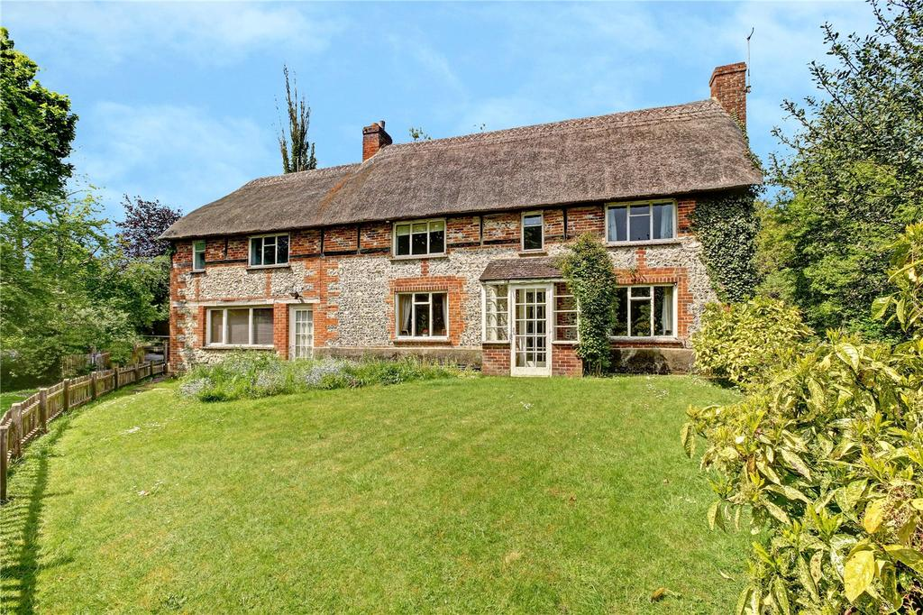 4 Bedrooms Detached House for sale in Sunton, Collingbourne Ducis, Marlborough, Wiltshire