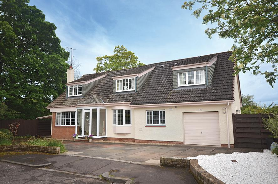 4 Bedrooms Detached Villa House for sale in 5 Upper Crofts, Alloway, KA7 4QY