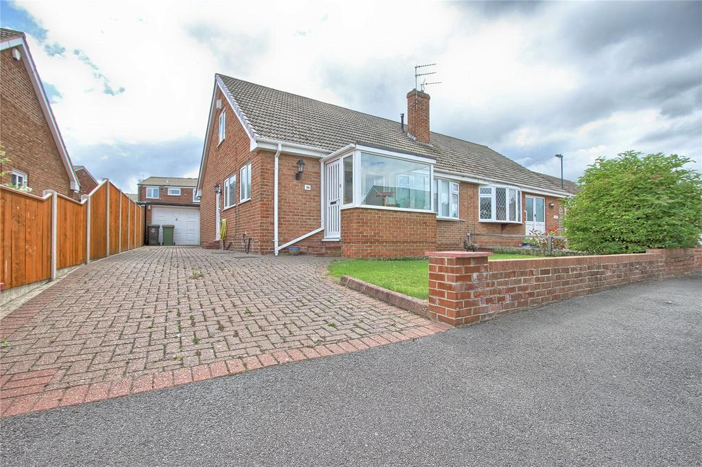 3 Bedrooms Semi Detached Bungalow for sale in Mordales Drive, Marske-by-the-Sea