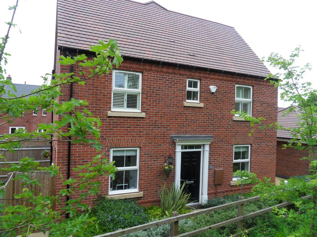3 Bedrooms Semi Detached House for sale in Raynesford Close, Quorn