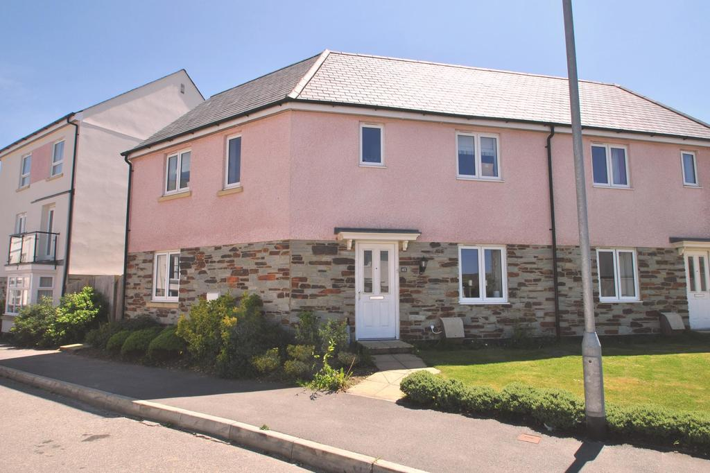 4 Bedrooms Semi Detached House for sale in Cavendish Crescent, Newquay
