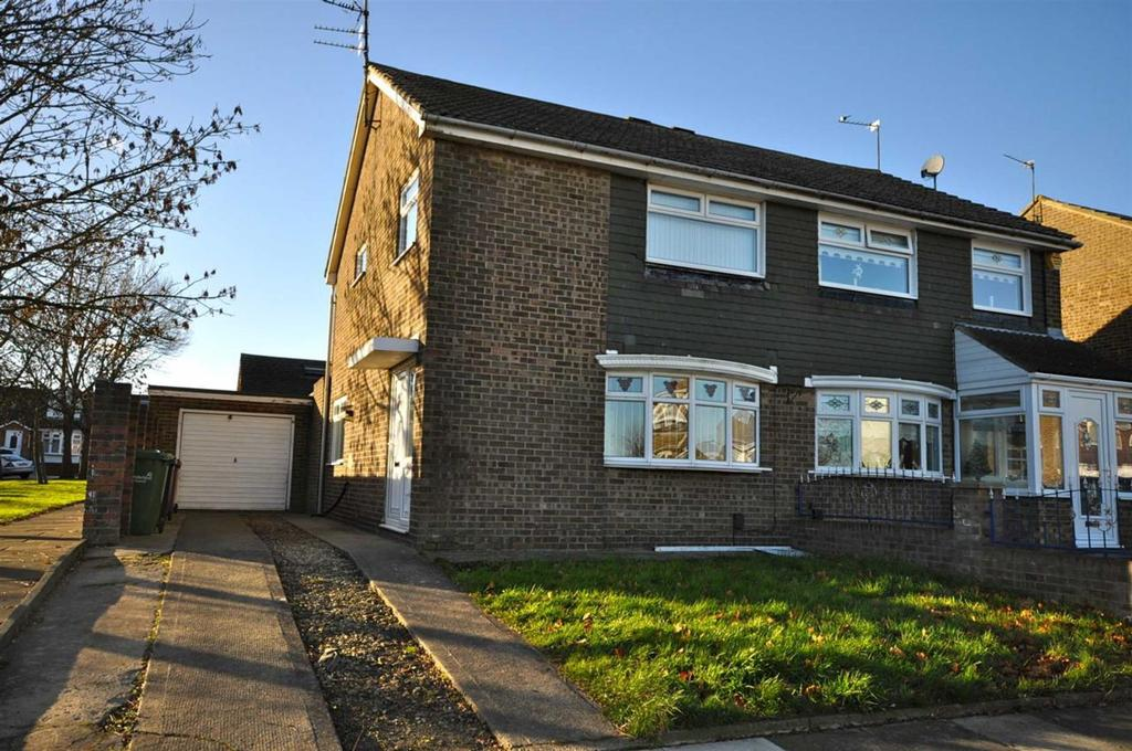 3 Bedrooms Semi Detached House for sale in Northfield Drive, North Farm, Sunderland