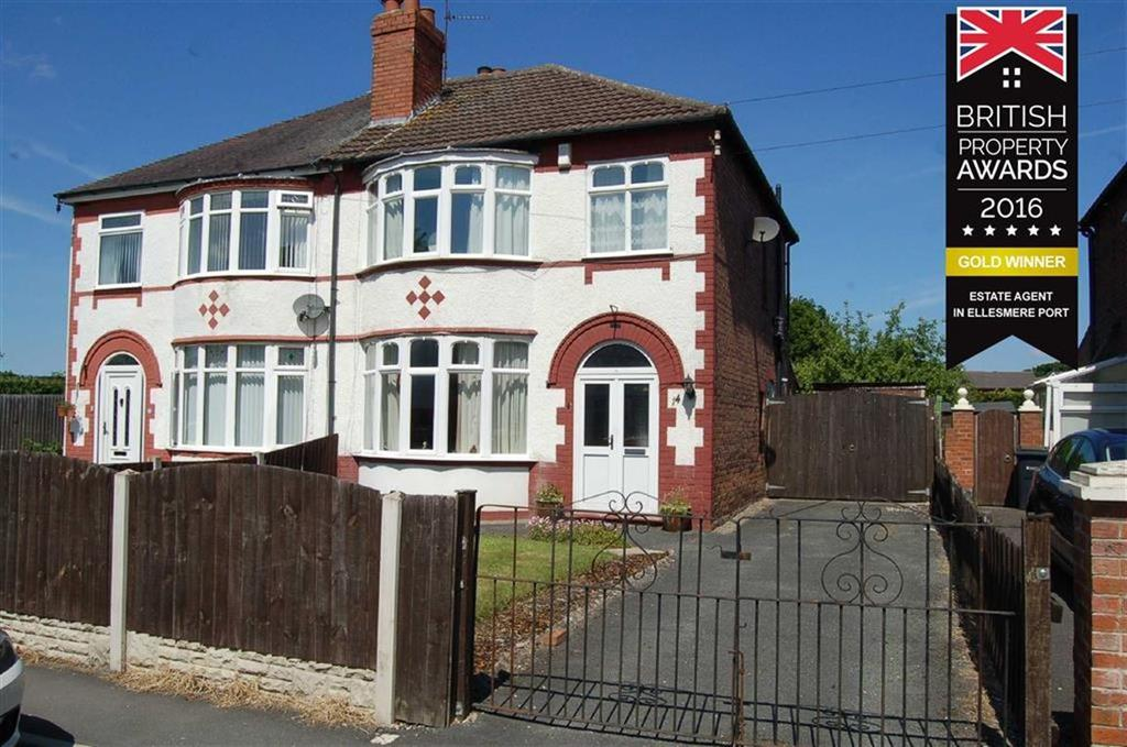 3 Bedrooms Semi Detached House for sale in Windsor Drive, Whitby, Ellesmere Port