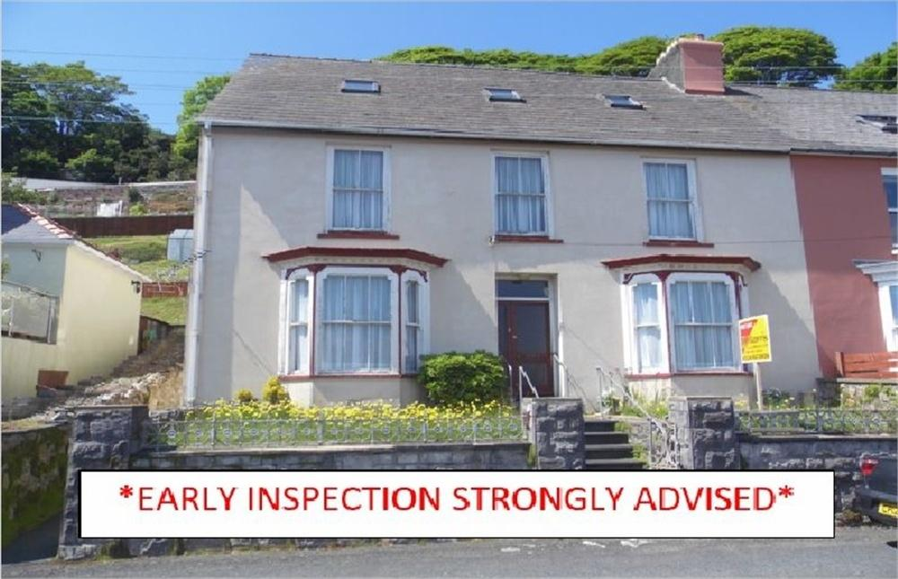 6 Bedrooms Semi Detached House for sale in The Lynch, Quay Road, Goodwick, Pembrokeshire