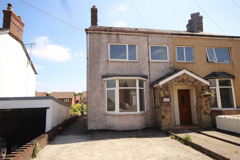 3 Bedrooms Semi Detached House for sale in Liverpool Road, Buckley, Flintshire