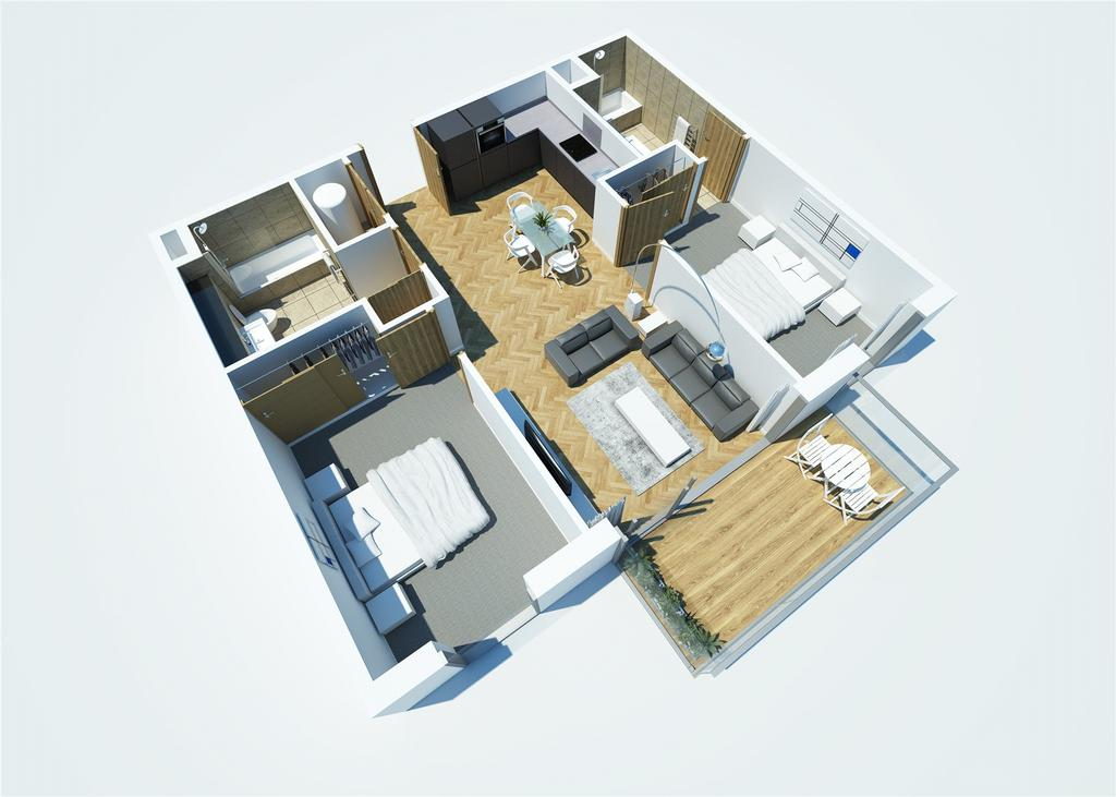 2 Bedrooms Flat for sale in Blue, Media City UK, Salford, Greater Manchester