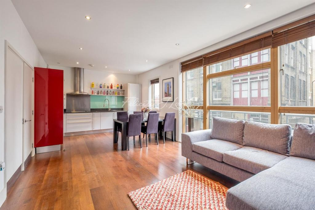 2 Bedrooms Flat for sale in Ebenezer Street, N1
