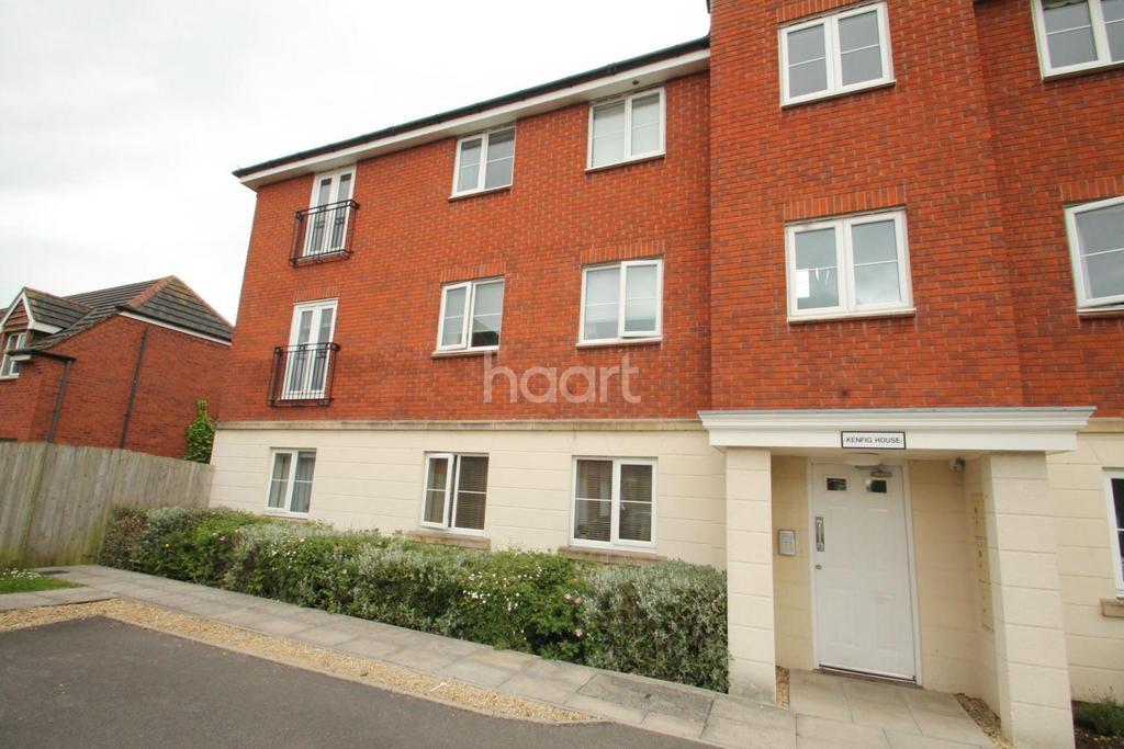 2 Bedrooms Flat for sale in Powis Close, Newport