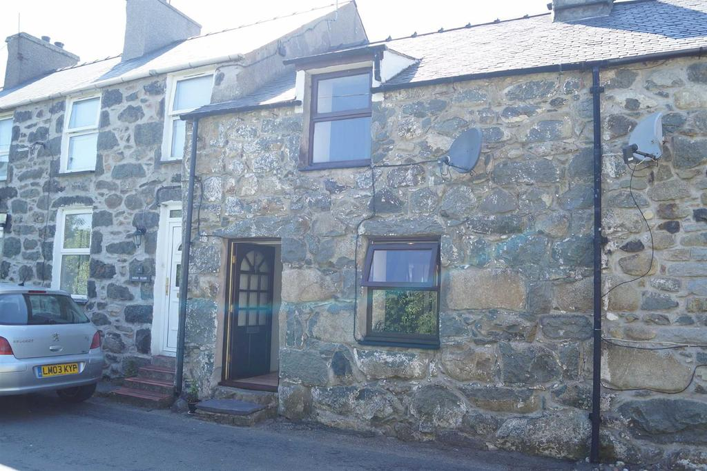 2 Bedrooms Terraced House for sale in Glan Y Wern, Chwilog