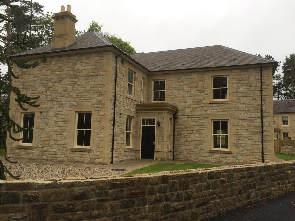 5 Bedrooms Detached House for sale in Fir Tree Copse, Hepscott, Morpeth, Northumberland
