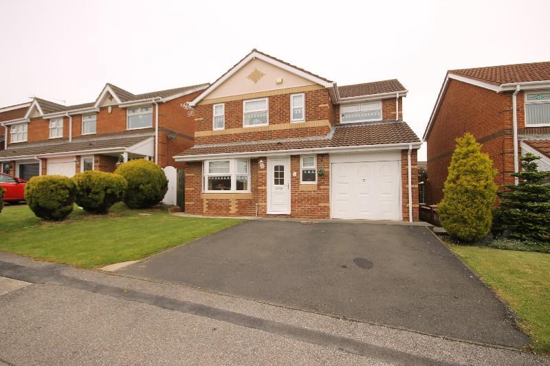 4 Bedrooms Detached House for sale in Talland Close, Hartlepool
