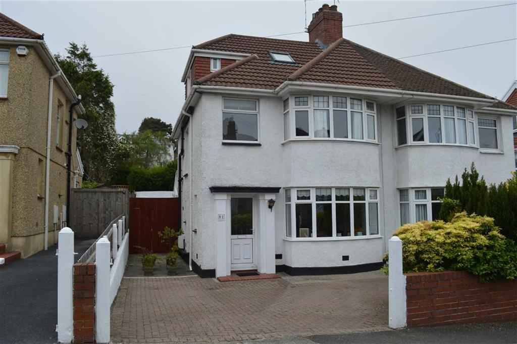 4 Bedrooms Semi Detached House for sale in Harlech Crescent, Swansea, SA2