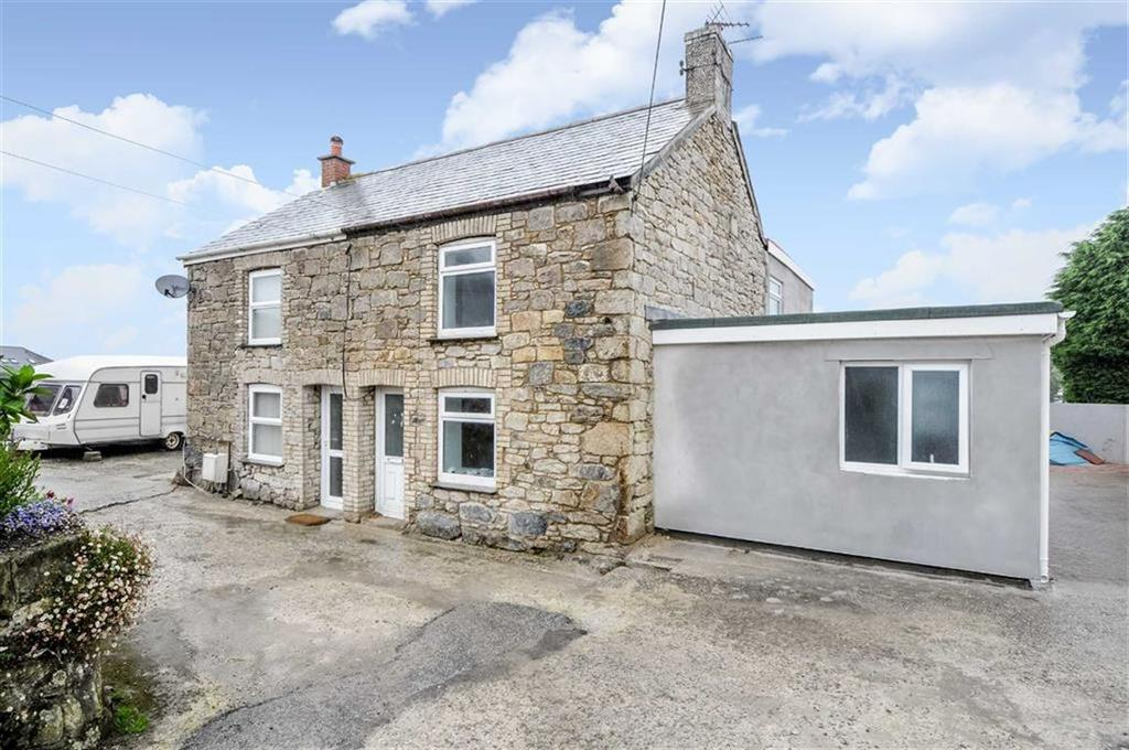 4 Bedrooms Semi Detached House for sale in Chapel Road, Indian Queens, St Columb, Cornwall, TR9