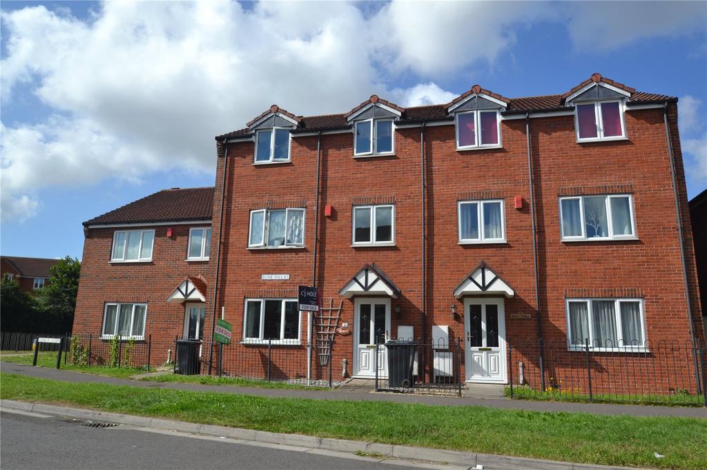 5 Bedrooms Terraced House for sale in Bune Villas, Reedmoor Gardens, Bridgwater, Somerset, TA6