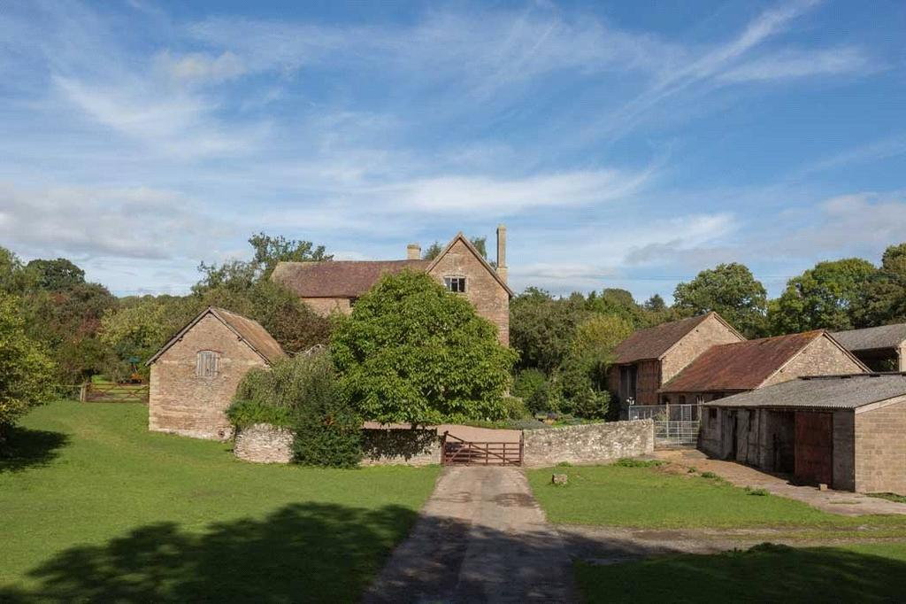 6 Bedrooms Farm House Character Property for sale in Malvern Road, Bringsty, Worcestershire, WR6