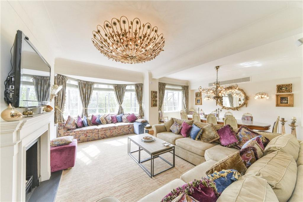 4 Bedrooms Flat for sale in Albion Gate, Hyde Park, London, W2