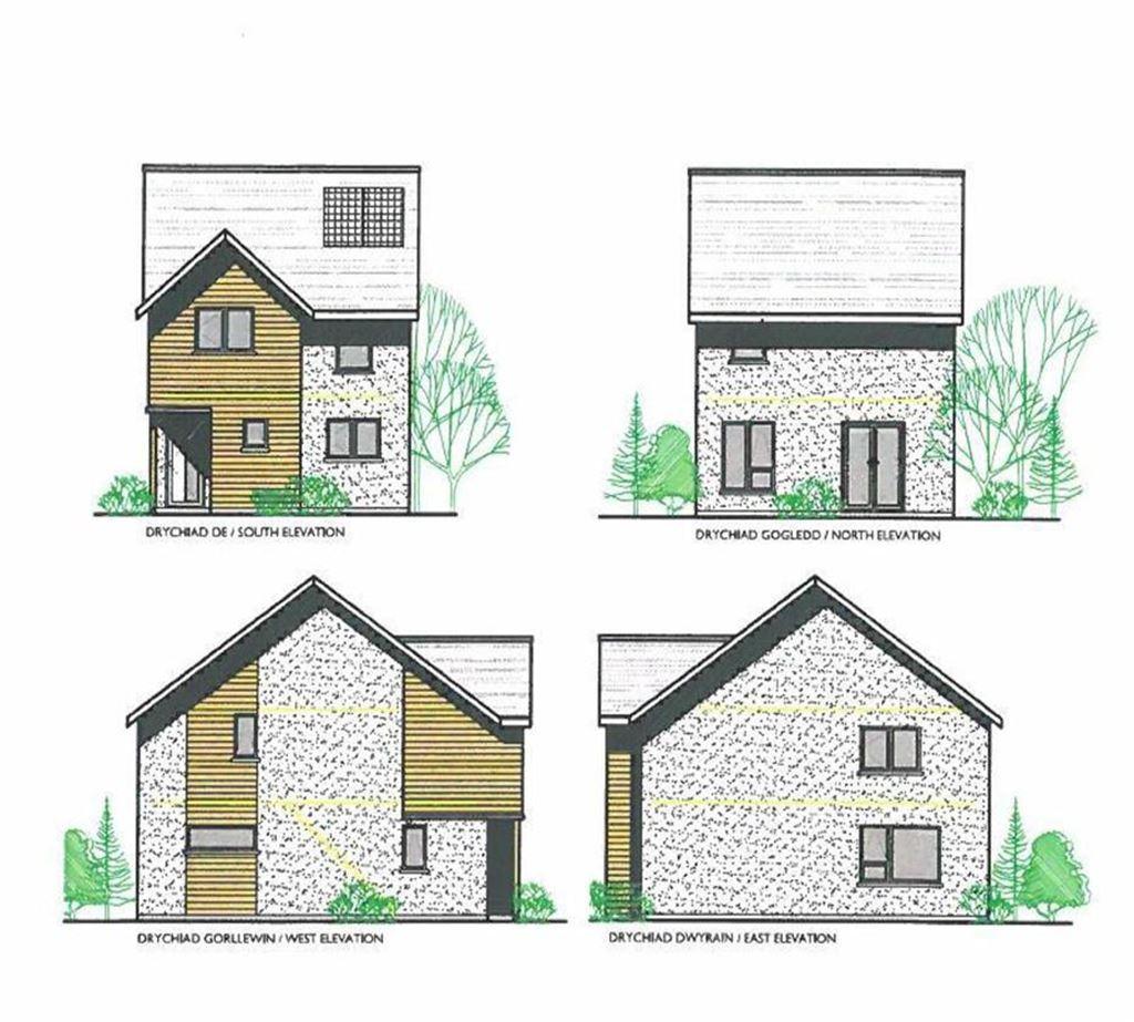 3 Bedrooms Detached House for sale in Plot 4, Goledd Ddyfi, Commins Coch, Machynlleth, Powys, SY20