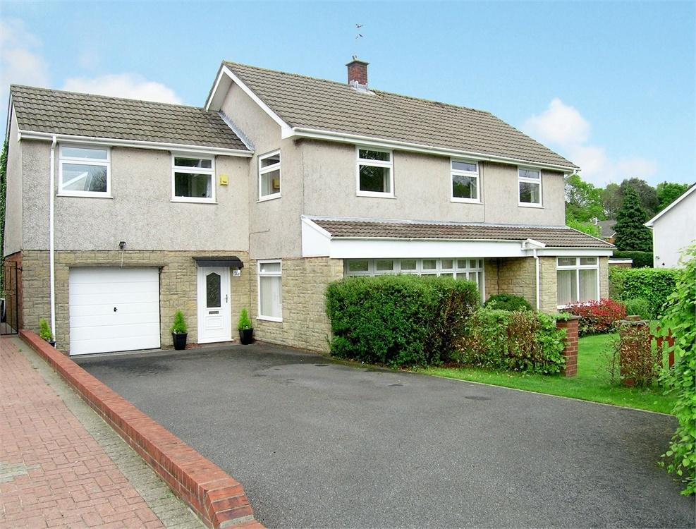 4 Bedrooms Detached House for sale in Heol Cefn Onn, Lisvane, Cardiff
