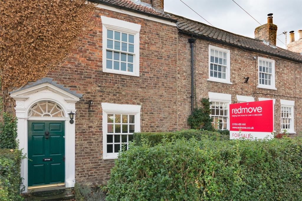 2 Bedrooms Terraced House for sale in Church Street, Dunnington, YORK