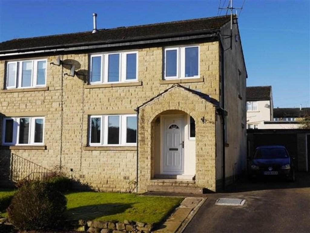 3 Bedrooms Semi Detached House for sale in Sandy Lane, Embsay