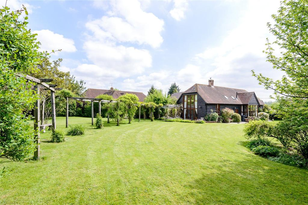 3 Bedrooms Detached House for sale in Houghton, Stockbridge, Hampshire