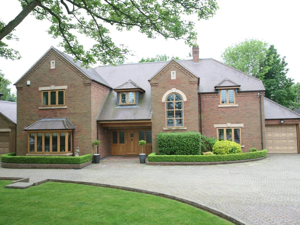 4 Bedrooms Detached House for sale in Hadleigh House, 55 Old Penkridge Road, Cannock, WS11 1HY