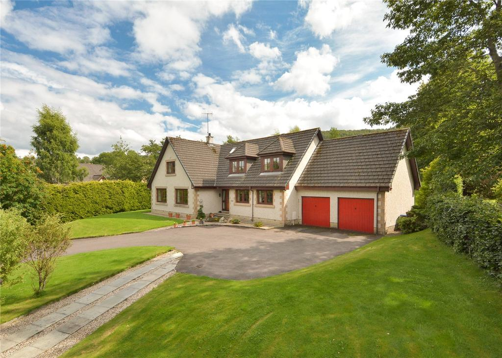 5 Bedrooms Detached House for sale in Woodside, Moness Avenue, Aberfeldy, Perthshire, PH15