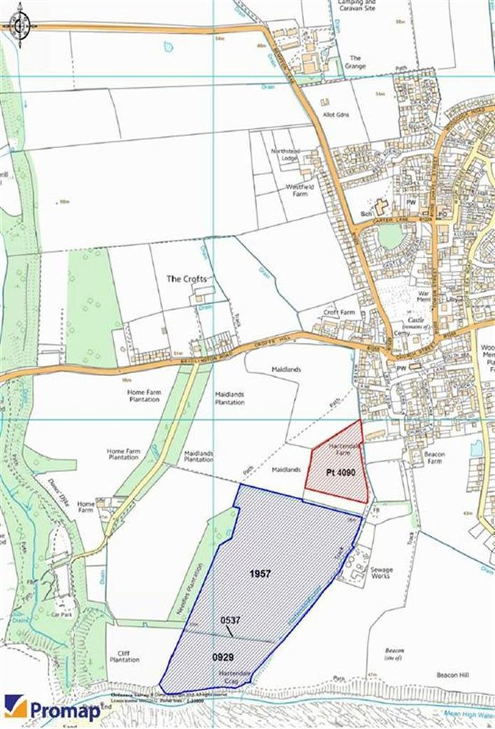 Farm Land Commercial for sale in Off West Street, Flamborough, East Yorkshire