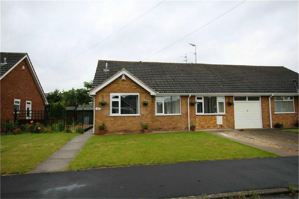 2 Bedrooms Semi Detached Bungalow for sale in Hornbeam Drive, Cottingham, East Riding of Yorkshire