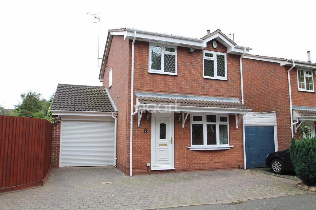 3 Bedrooms Detached House for sale in Lancaster Way, Strelley, Nottingham