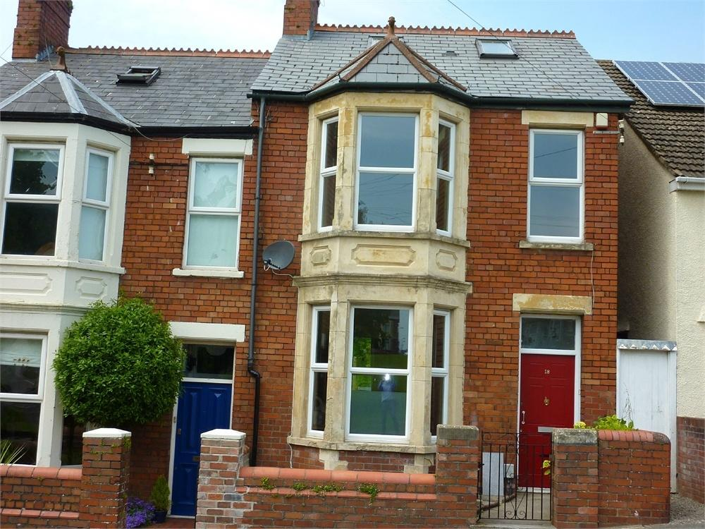 3 Bedrooms End Of Terrace House for rent in Plassey Square, Penarth