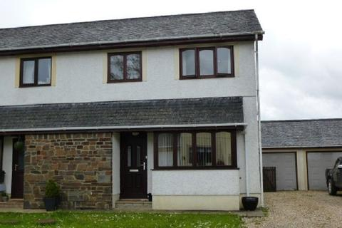 3 bedroom semi-detached house to rent - Maes Celyn, Talley, Llandeilo, Carmarthenshire.