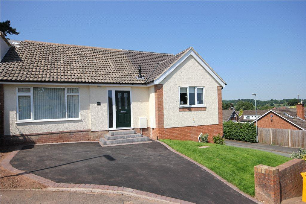 3 Bedrooms Semi Detached Bungalow for sale in Church View Gardens, Kinver, Stourbridge, Staffordshire, DY7