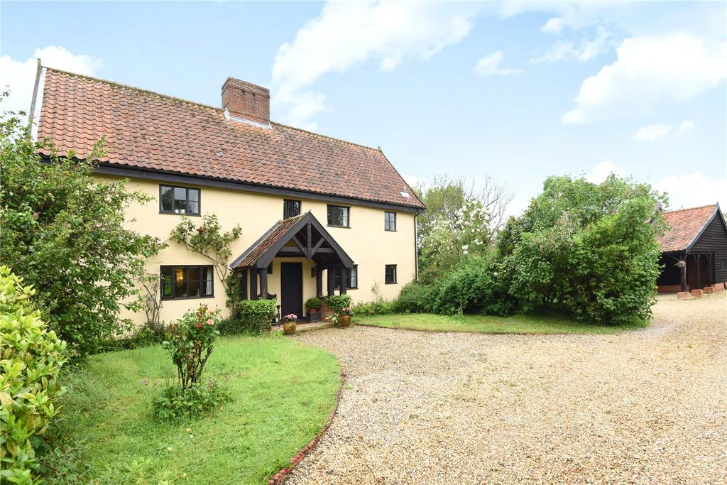 5 Bedrooms Detached House for sale in The Green, Saxlingham Nethergate, Norfolk