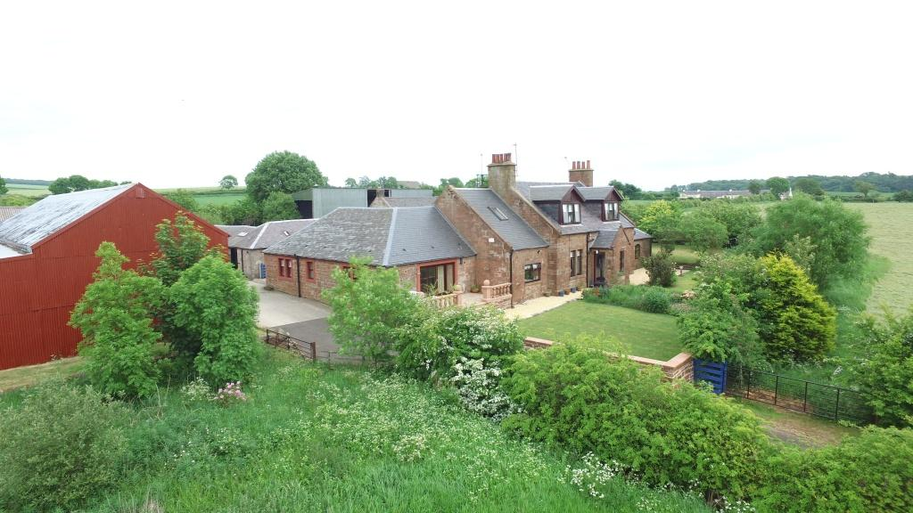 6 Bedrooms Farm House Character Property for sale in Newlands Farm Baird Road, By Monkton, KA9 2SD