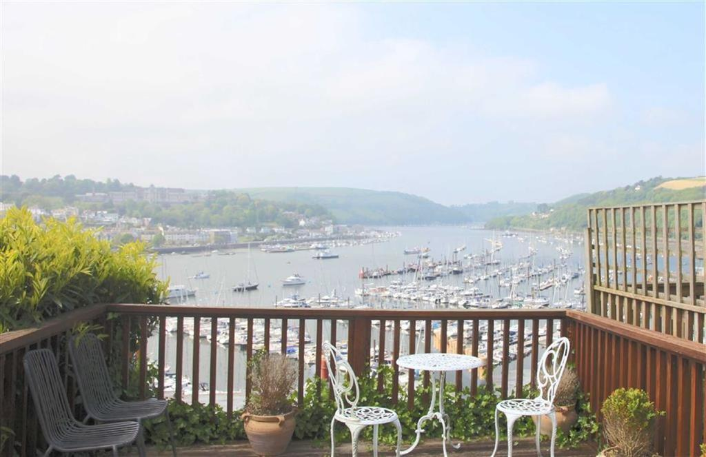 2 Bedrooms Semi Detached House for sale in Hillside Terrace, Stunning Views, Kingswear, Devon, TQ6