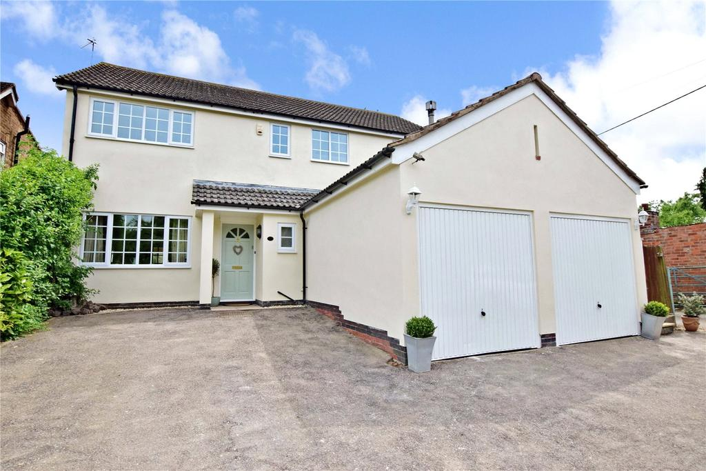 4 Bedrooms Detached House for sale in Green Lane, Seagrave, Loughborough