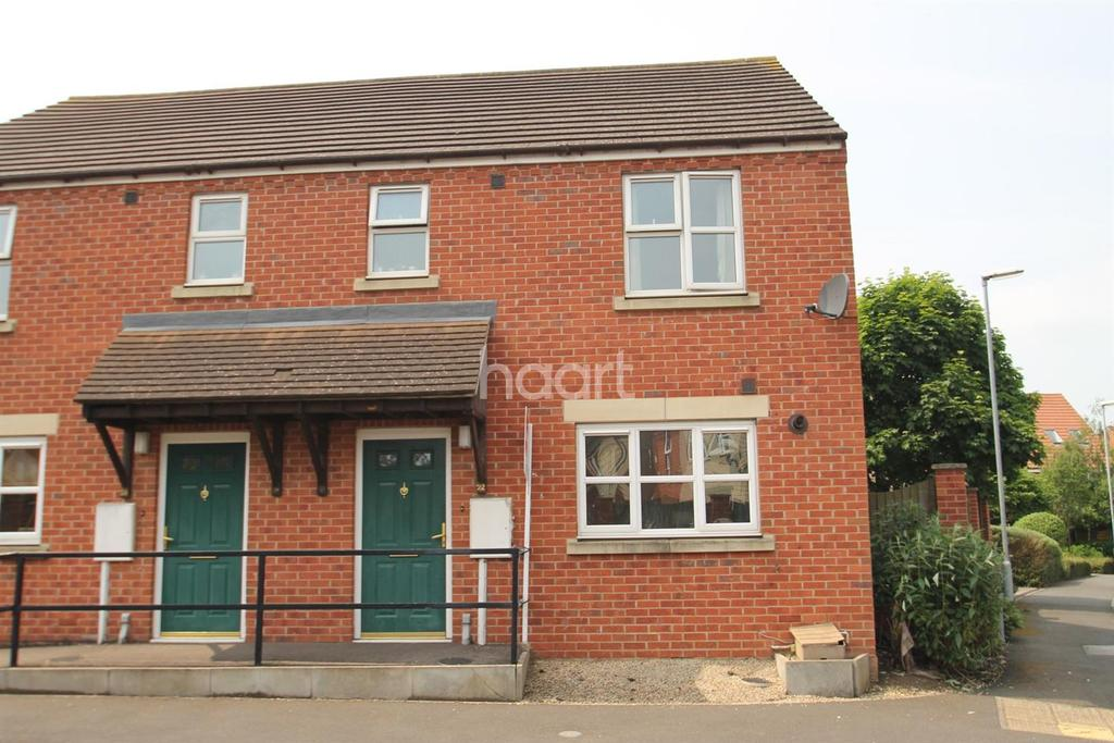 3 Bedrooms Semi Detached House for sale in Harris Way, Grantham,